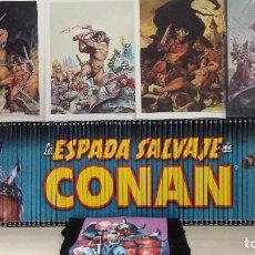 Cómics: LA ESPADA SALVAJE DE CONAN COMPLETA TOMOS 1 AL 90 + REGALOS (PLANETA). Lote 198215987