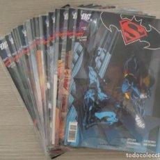 Cómics: SUPERMAN / BATMAN VOLUMEN 1 COMPLETO NÚMEROS 1 AL 18 GRAPA (JEPH LOEB - ED MCGUINNESS) PLANETA. Lote 198259017