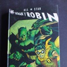 Cómics: ALL STAR BATMAN Y ROBIN-TOMO ÚNICO PLANETA FRANK MILLER Y JIM LEE. Lote 198466420