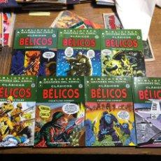 Cómics: CLASICOS BELICOS. BIBLIOTECA GRANDES DEL COMIC. COMPLETA. Lote 199670642