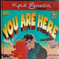 Fumetti: YOU ARE HERE KYLE BAKER PLANETA DEAGOSTINI COMICS. Lote 200273672