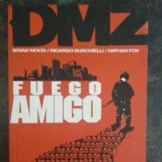 Cómics: DMZ - FUEGO AMIGO - BRIAN WOOD, RICCARDO BURCHIELLI - VERTIGO - PLANETA DEAGOSTINI. Lote 185975123