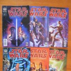 Comics : STAR WARS - PRELUDIO A LA REBELION - COMPLETA - NUMEROS 1 A 6 - PLANETA (IK). Lote 201602005