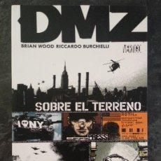 Cómics: DMZ - SOBRE EL TERRENO - BRIAN WOOD, RICCARDO BURCHIELLI - VERTIGO - PLANETA DEAGOSTINI. Lote 185974936