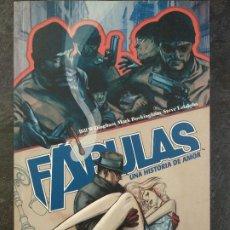 Cómics: FÁBULAS - UNA HISTORIA DE AMOR - BILL WILLINGHAM, MARK BUCKINGHAM - VERTIGO - PLANETA DEAGOSTINI. Lote 185981076
