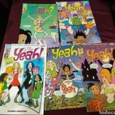 Cómics: YEAH! 5 COMICS PLANETA, N° 1,3,4,5,6. Lote 203113471