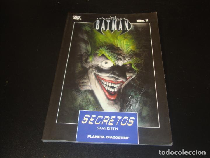 LEYENDAS DE BATMAN N.º 11 (Tebeos y Comics - Planeta)