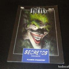 Comics : LEYENDAS DE BATMAN N.º 11. Lote 204364462