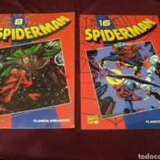 Cómics: SPIDERMAN, N° 8 Y 16, PLANETA, MARVEL COMICS. Lote 204400405