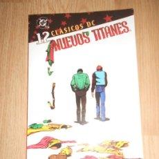 Cómics: NUEVOS TITANES Nº 12 - CLASICOS DC - PLANETA. Lote 204508662