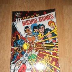 Cómics: NUEVOS TITANES Nº 10 - CLASICOS DC - PLANETA. Lote 204508886