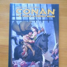 Cómics: CONAN Y EL PUEBLO DEL CIRCULO NEGRO - VAN LENTE, OLIVETTI - PLANETA - TAPA DURA (BF). Lote 204649125