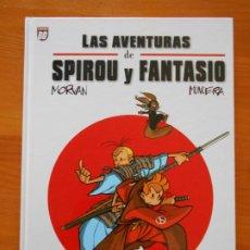 Cómics: LAS AVENTURAS DE SPIROU Y FANTASIO - MORVAN, MUNUERA - PLANETA - TAPA DURA (Z1). Lote 204663212