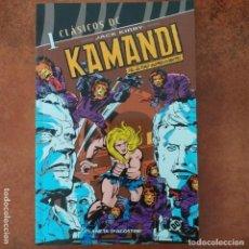 Fumetti: CLASICOS DC. KAMANDI EL ÚLTIMO SUPERVIVIENTE. NUM 1. JACK KIRBI. Lote 205015258