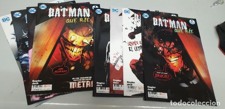 EL BATMAN QUE RIE ¡ COMPLETA 8 NUMEROS ! SCOTT SNYDER - JOCK / DC - ECC (Tebeos y Comics - Planeta)