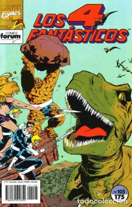 LOS 4 FANTÁSTICOS EDITORIAL PLANETA-DEAGOSTINI, S. A. / EDICIONES FORUM Nº.105 (Tebeos y Comics - Planeta)