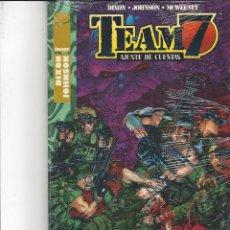 Fumetti: TEAM 7 AJUSTE DE CUENTAS - A ESTRENAR. Lote 205896525