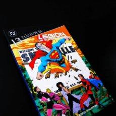 Cómics: EXCELENTE ESTADO LEGION DE SUPERHÉROES 13 CLASICIS DC PLANETA. Lote 206231217