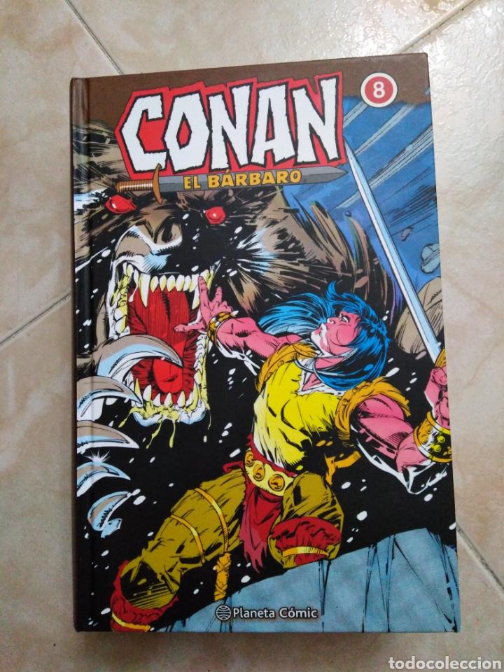 CONAN EL BÁRBARO NÚMERO 8 ( PLANETA CÓMIC ) 686 PÁGINAS (Tebeos y Comics - Planeta)