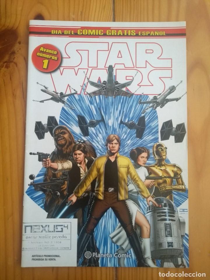 STAR WARS 1 - DÍA DEL COMIC GRATIS ESPAÑOL (Tebeos y Comics - Planeta)