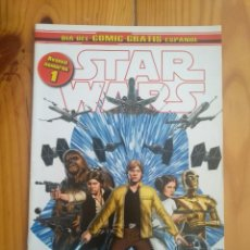 Comics : STAR WARS 1 - DÍA DEL COMIC GRATIS ESPAÑOL. Lote 206336442