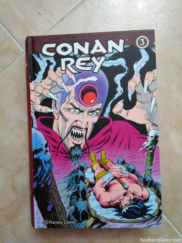 CONAN REY NÚMERO 3 ( PLANETA CÓMIC ) 524 PÁGINAS (Tebeos y Comics - Planeta)