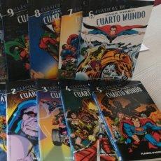 Cómics: COMPLETA 10 TOMOS CLÁSICOS DC CUARTO MUNDO. Lote 206370568