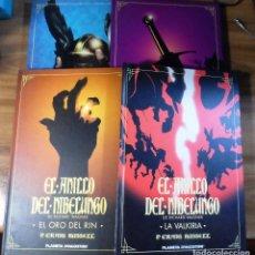 Cómics: P. GRAIG RUSSELL. EL ANILLO DE LOS NIBELUNGOS. COMPLETA. 4 TOMOS DE TAPA DURA. PLANETA DEAGOSTINI.. Lote 206396267