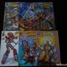 Cómics: GLORY WORLD COMICS COLECCION COMPLETA 6 NUMEROS. Lote 206399167