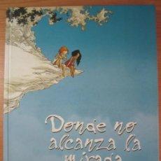 Cómics: COMIC LIBRO DONDE NO ALCANZA LA MIRADA PLANETA DE AGOSTINI GEORGES ABOLIN OLIVIER PONT. Lote 206444253