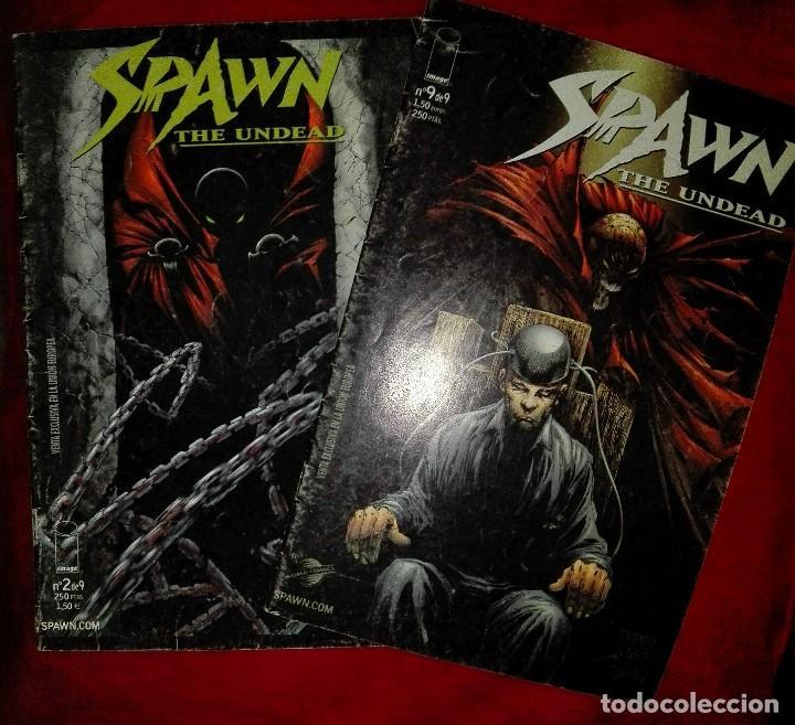 SPAWN THE UNDEAD 2 Y 9 (TAMBIÉN SUELTOS) (Tebeos y Comics - Planeta)