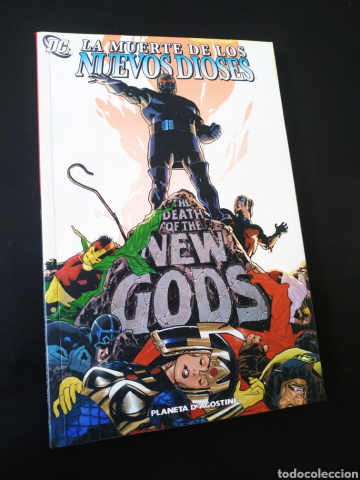 DE KIOSCO LA MUERTE DE LOS NUEVOS DIOSES PLANETA (Tebeos y Comics - Planeta)