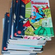Cómics: COLECCIONABLE LAS AVENTURAS DE SUPERMAN 1 2 3 4 5 6 7 8 9 10....18 19 20 - PLANETA 2006 - Y SUELTOS. Lote 236495750
