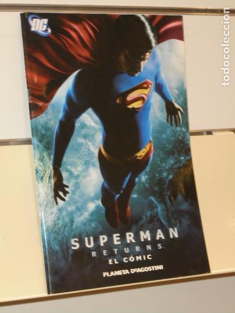 SUPERMAN RETURNS EL COMIC - PLANETA - OFERTA (Tebeos y Comics - Planeta)