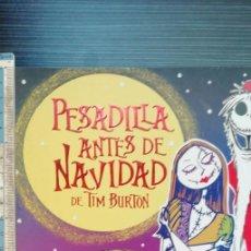 Cómics: PESADILLA ANTES DE NAVIDAD DE TIM BURTON. Lote 207536587