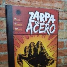 Cómics: ZARPA DE ACERO 1 PLANETA TAPA DURA MUY BUEN ESTADO. Lote 207954171