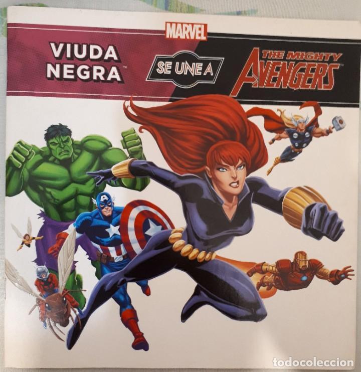 THE MIGHTY AVENGERS: VIUDA NEGRA SE UNE (Tebeos y Comics - Planeta)