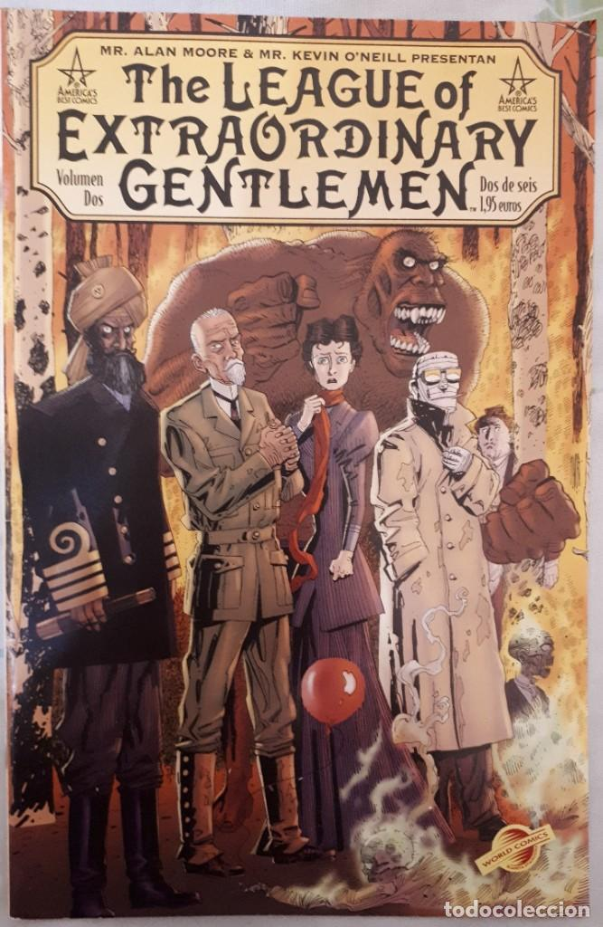THE LEAGE OF EXTRAORDINARY GENTLEMEN VOLÚMEN 2: 2/6 (Tebeos y Comics - Planeta)
