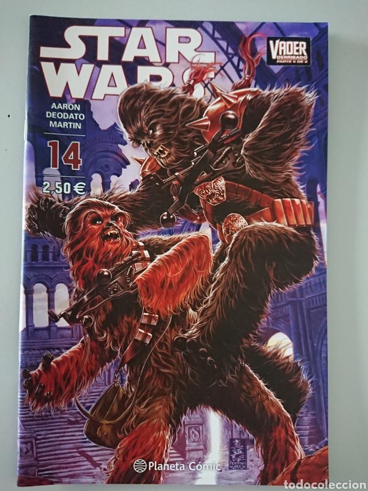 STAR WARS 14 (VADER DERRIBADO 5 DE 6), PLANETA COMIC 2016 (Tebeos y Comics - Planeta)