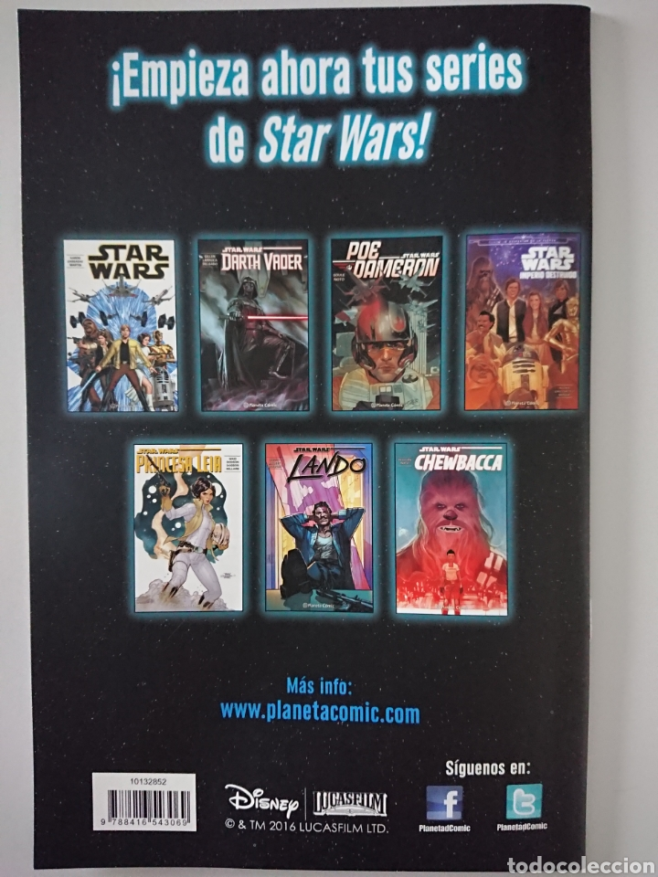 Cómics: Star Wars 18, Planeta Comic 2016 - Foto 2 - 209243105