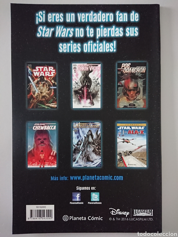Cómics: Star Wars 21, Planeta Comic 2016 - Foto 2 - 209243718