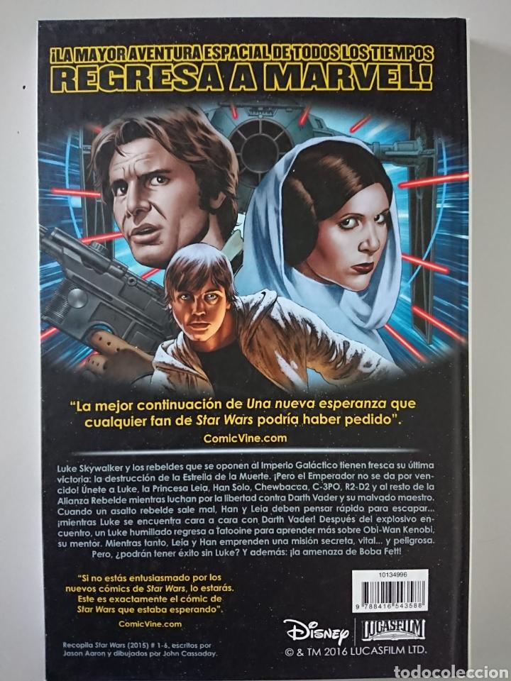 Cómics: Star Wars, tomo recopilatorio 1 (números 1 al 6) en tapa dura, Planeta Cómic 2017 - Foto 2 - 209247580