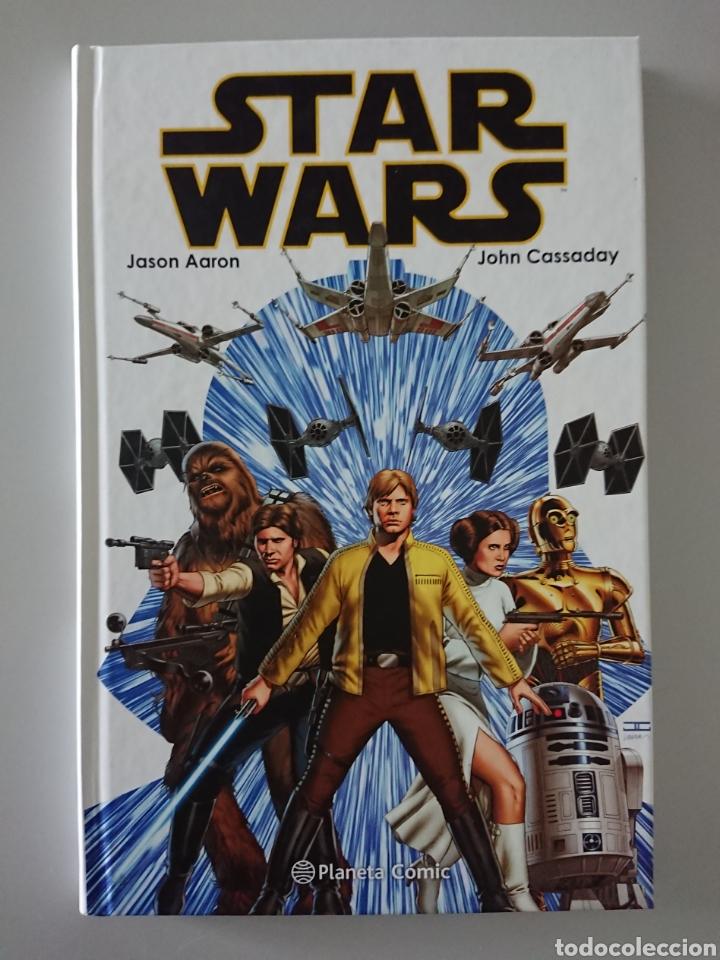 STAR WARS, TOMO RECOPILATORIO 1 (NÚMEROS 1 AL 6) EN TAPA DURA, PLANETA CÓMIC 2017 (Tebeos y Comics - Planeta)