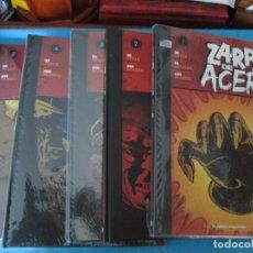 Comics : ZARPA DE ACERO LOS CINCO TOMOS. Lote 209989108