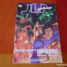 Cómics: JLA CLASIFICADO 2 NUEVOS MAPAS DEL INFIERNO (ELLIS) ¡MUY BUEN ESTADO! PLANETA DC LIGA DE LA JUSTICIA. Lote 210080586