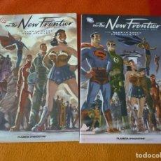 Cómics: DC THE NEW FRONTIER 1 Y 2 ¡COMPLETA! ( COOKE STEWART ) ¡MUY BUEN ESTADO! PLANETA. Lote 210080845