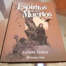 Cómics: RICHARD CORBEN EL ESPIRITU DE LOS MUERTOS EDGAR ALLAN POE ED.PLANETA COMIC. Lote 210248500