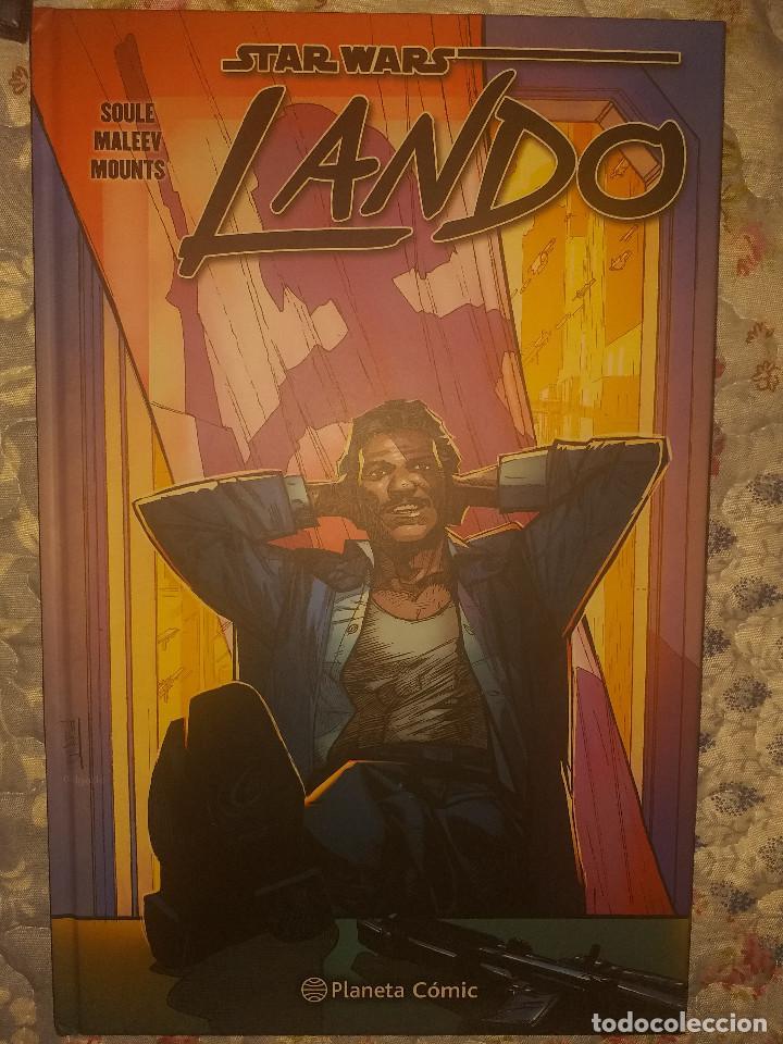 STAR WARS: LANDO. PLANETA COMIC. COMPLETA. (Tebeos y Comics - Planeta)