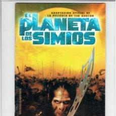 Cómics: * COMIC EL PLANETA DE LOS SIMIOS ADAPTACION OFICIAL DE LA PELICULA PLANETA 2001 *. Lote 210412142