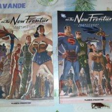 Cómics: DC THE NEW FRONTIER VOLUMEN UNO Y DOS COMPLETA. Lote 210482897